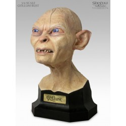 Gollum Bust Polystone Bust Sideshow Collectibles Weta 3:4 Scale LOTR The Hobbit