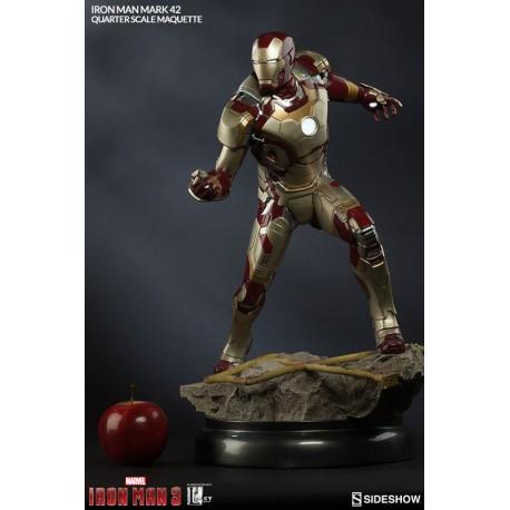 Iron Man Mark 42 Quarter Scale Maquette