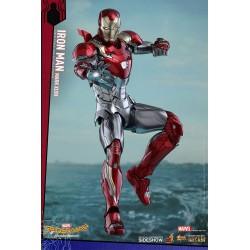 Spider-Man Homecoming Figura Movie Masterpiece Diecast 1/6 Iron Man Mark XLVII
