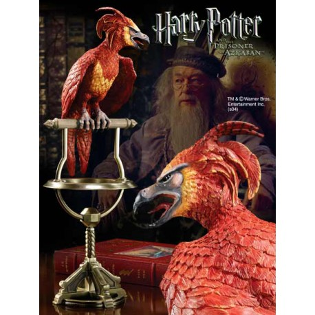 Harry Potter Estatua Fawkes el Fénix