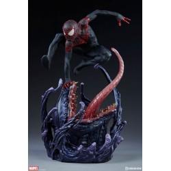 Spider-Man Miles Morales Marvel Comics Estatua Premium Format