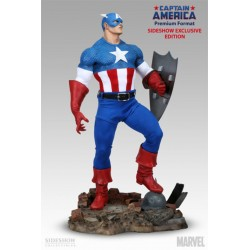 Captain America Premium Format Sideshow Exclusive 1/4 Scale Figure