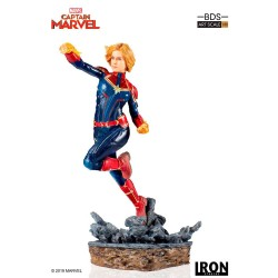 Captain Marvel - Marvel Comics Estatua 1/10 BDS Art Scale