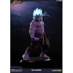 Oni Akuma Street Fighter Estatua 1/4