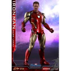 Iron Man Mark LXXXV Vengadores: Endgame Figura Movie Masterpiece Series Diecast