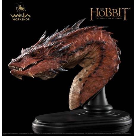 The Hobbit: The Desolation of Smaug - Smaug the Terrible - Bust Edition
