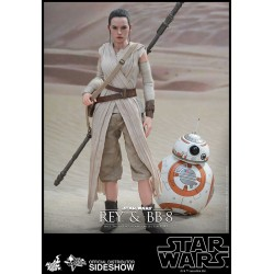 Rey and BB-8 Sixth Scale Figure Set