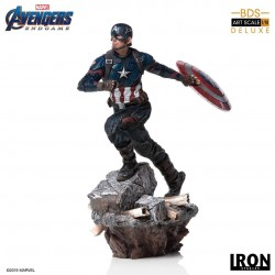 Captain America Vengadores: Endgame Estatua Deluxe BDS Art Scale 1/10