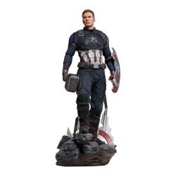 Captain America Deluxe Version Vengadores: Endgame Estatua Legacy Replica 1/4