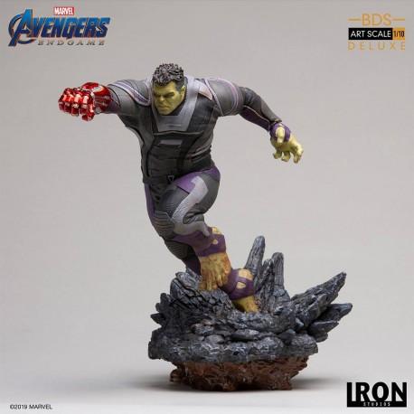 Hulk Deluxe Version Vengadores: Endgame Estatua BDS Art Scale 1/10