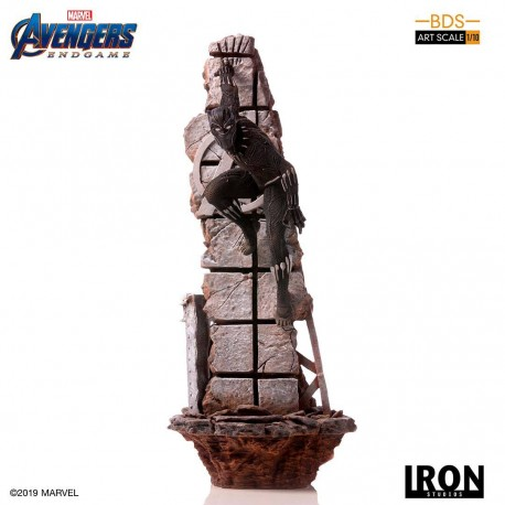 Black Panther Vengadores: Endgame Estatua BDS Art Scale 1/10