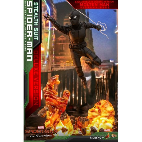 Spider-Man (Stealth Suit) Deluxe Version Far From Home