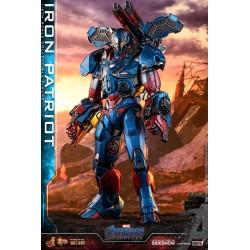 Iron Patriot Vengadores: Endgame Figura Movie Masterpiece Series Diecast 1/6