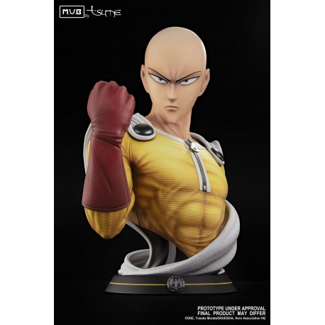 Saitama The ultimate hero!  Busto Escala 1/1