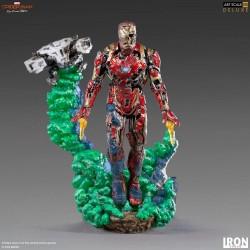 Iron Man Illusion Spider-Man: Lejos de casa Estatua BDS Art Scale Deluxe 1/10