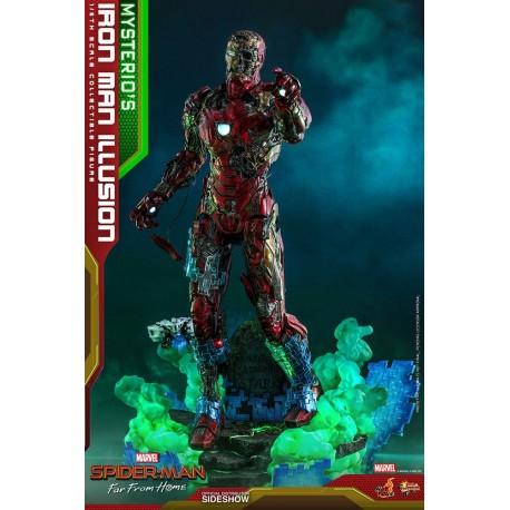 Mysterio's Iron Man Illusion Spider-Man: Lejos de casa