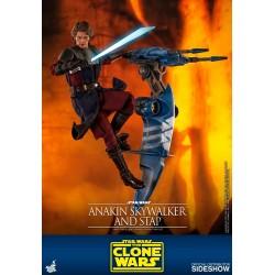 Anakin Skywalker & STAP Star Wars The Clone Wars
