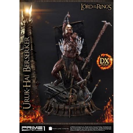 Uruk-Hai Berserker Deluxe Version El Señor de los Anillos Estatua 1/4