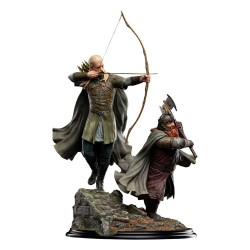 Legolas and Gimli at Amon Hen El Señor de los Anillos Estatua 1/6