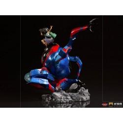 Peni Parker & SP Spider-Man: Un nuevo universo Estatua BDS Art Scale Deluxe 1/10