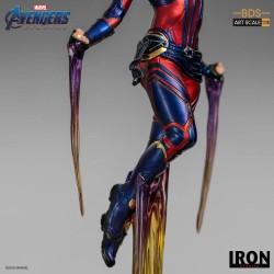 Captain Marvel Vengadores: Endgame Estatua BDS Art Scale 1/10
