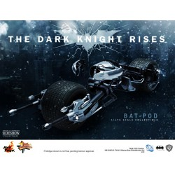 Batman The Dark Knight Rises Vehículo Movie Masterpiece 1/6 Bat-Pod