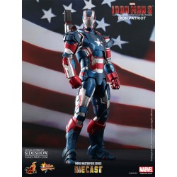 Iron Man 3 Figura MMS Diecast 1/6 Iron Patriot