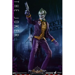 Batman Arkham Asylum Figura Videogame Masterpiece 1/6 The Joker