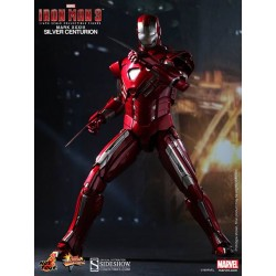 Iron Man – Silver Centurion – Mark 33