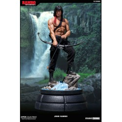 Rambo First Blood Part II Mixed Media Estatua 1/3 John Rambo