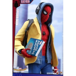 Homecoming Figura Movie Masterpiece 1/6 Spider-Man Deluxe Ver.