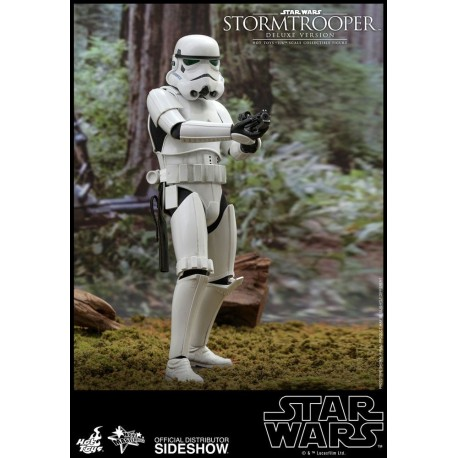 Stormtrooper Deluxe Version Star Wars Figura Movie Masterpiece