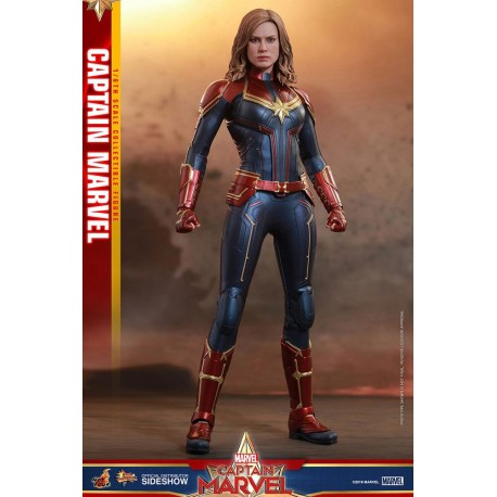 Captain Marvel Figura Movie Masterpiece