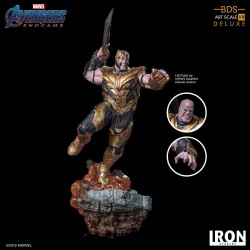 Thanos Deluxe Version Vengadores Endgame Estatua BDS Art Scale 1/10
