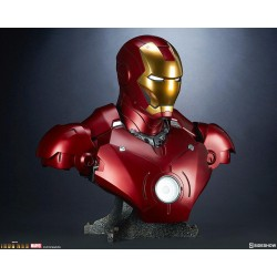 Busto 1/1 Iron Man Mark III