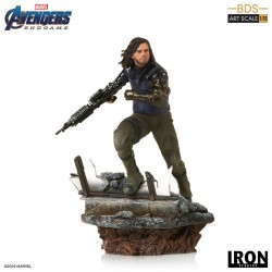 Winter Soldier Vengadores: Endgame Estatua Deluxe BDS Art Scale 1/10