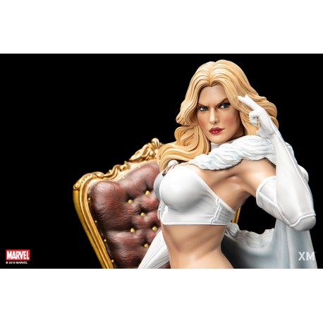 White Queen Emma Frost Premium Collectibles