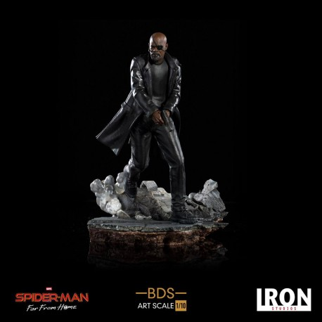 Nick Fury Spider-Man: Lejos de casa Estatua BDS Art Scale Deluxe 1/10