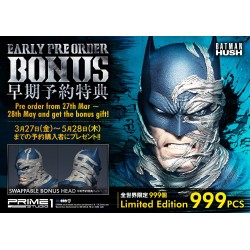Batman Batcave Deluxe Bonus Version Batman Hush