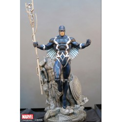 Premium Collectibles: Black Bolt Statue (Comics Version)
